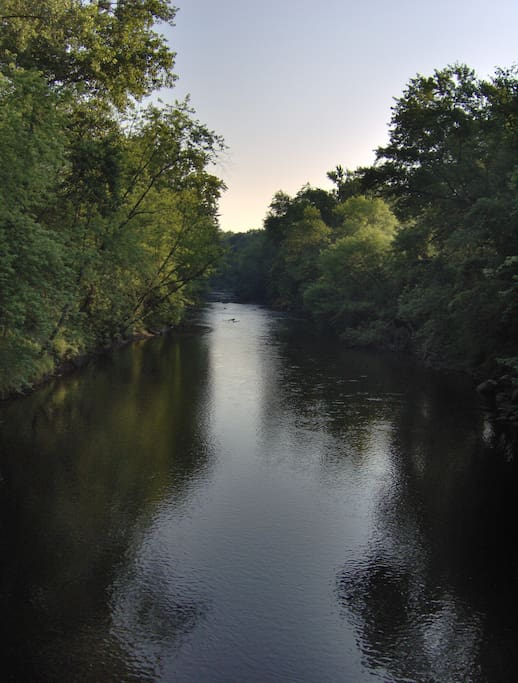 Riverwalk photo of Housatonic River.