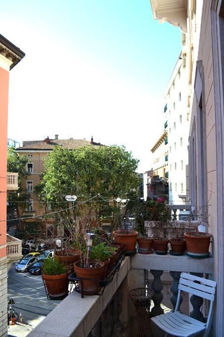 Balcony from livingroom