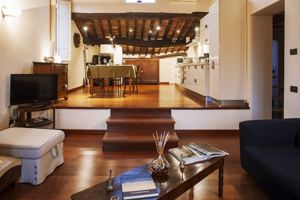 Sala cucina open space