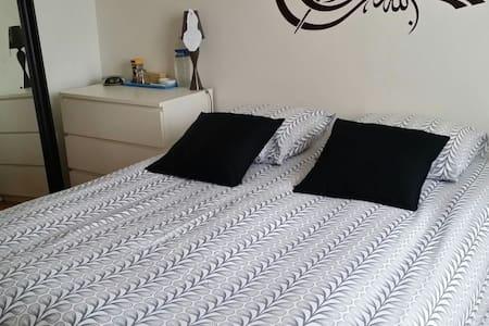 Quiet sleeping room in a house - Hœnheim