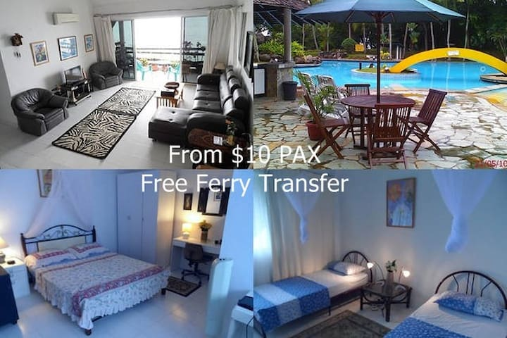 Batam Seafront Apartment From $10 PAX  - Indonesia - Kota Batam - Service appartement