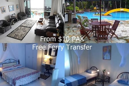 Batam Seafront Apartment From $10 PAX - Sekupang