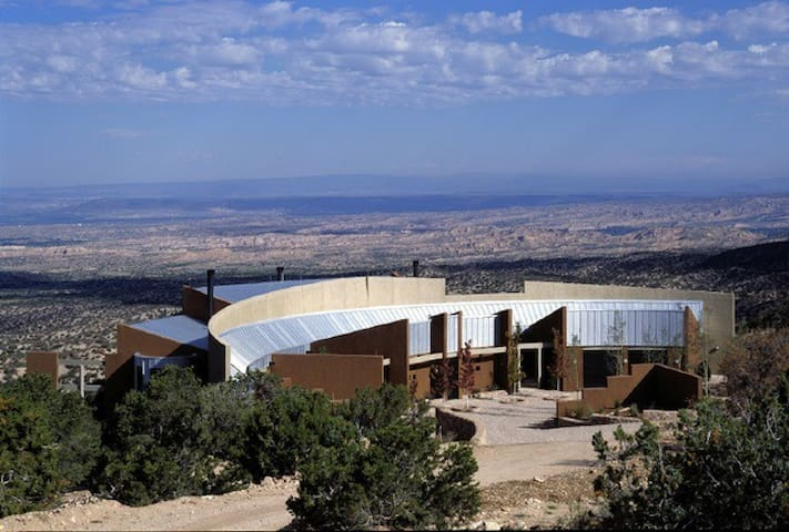 Private Mountain Aerie Huge Views - Santa Fe - Casa