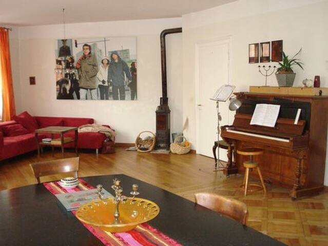 Big and beautiful Location close to Messe and City - Basel - Wohnung