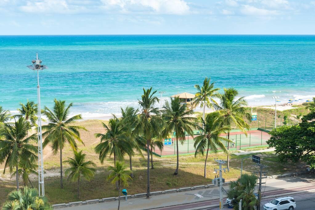 View to the beach of Boa Viagem