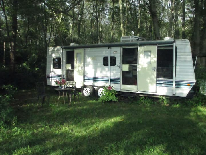 Providence area Farm Stay Large Camper