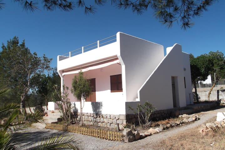 Countryhouse, roofterrace,1km beach - Santa Eulària des Riu - House