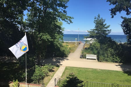 Wohnung mit direktem Strandzugang und Meerblick - Ostseebad Boltenhagen - Andere