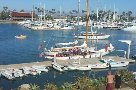 2.Walk to Harbor/ Beach, breakfast included - 奥克斯纳德(Oxnard) - 独立屋