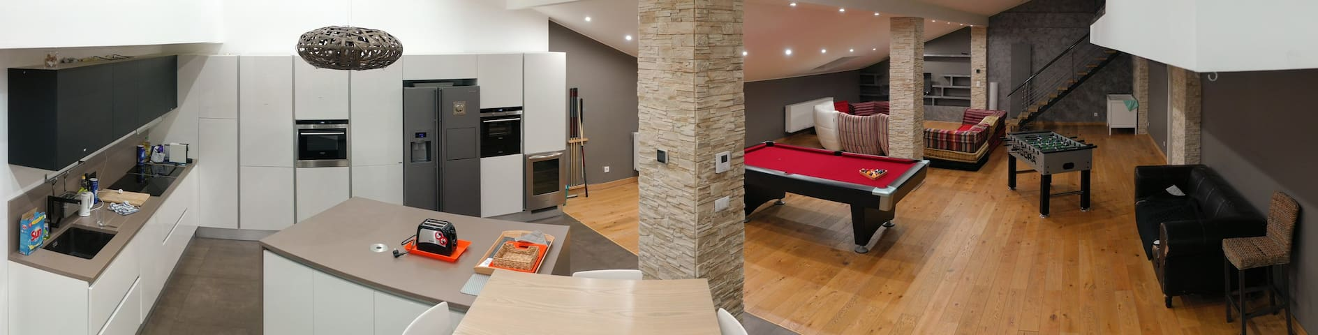 Lovely private room in a Loft (n°1)