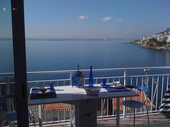 Panorama unique sur la baie