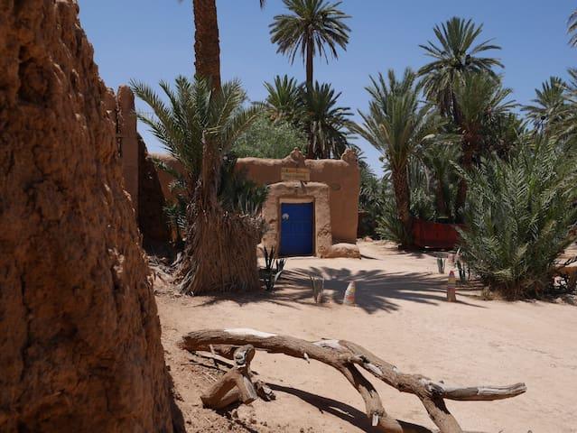 La maison saharaouie Oasis Tighmert