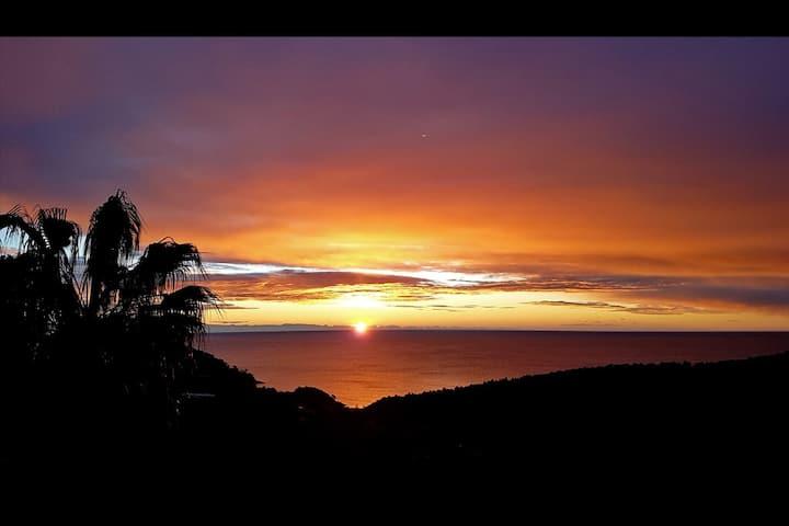 Grande villa vue panoramique mer et nature