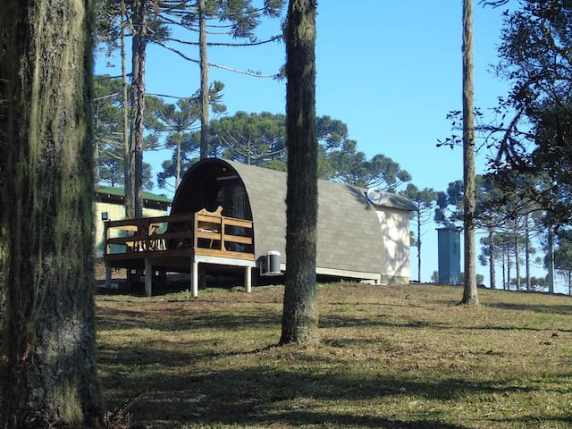 Chalé nórdico em Urubici - Urubici - Rumah
