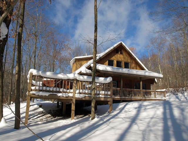 Private Snowshoe Cabin, Hot Tub - Slaty Fork - House