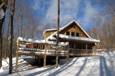 Private Snowshoe Cabin, Hot Tub - Slaty Fork