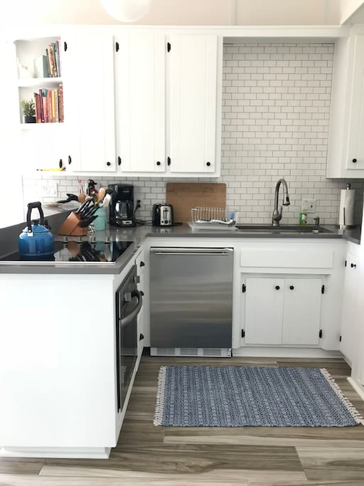 Kitchen.  Fully remodeled in late 2017.