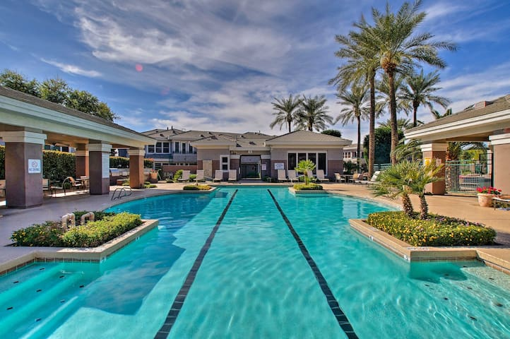 NEW! Upscale Scottsdale Condo w/ Pool - Golf View!
