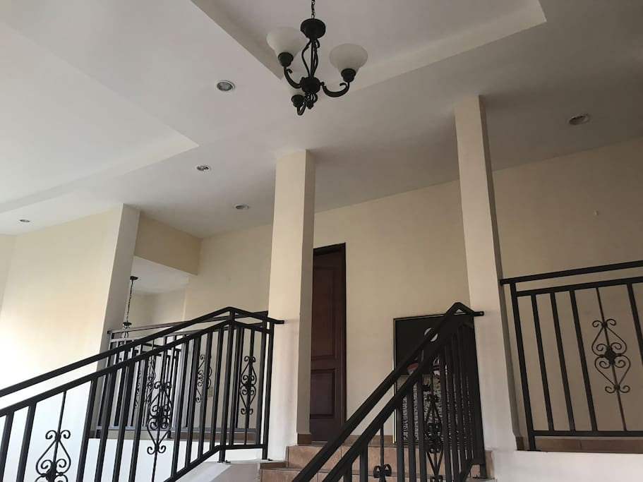 Stairs to 2nd. Floor