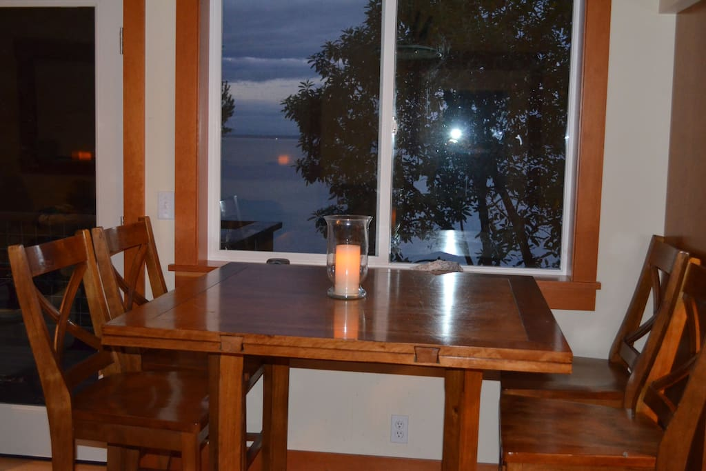 Dining room and view