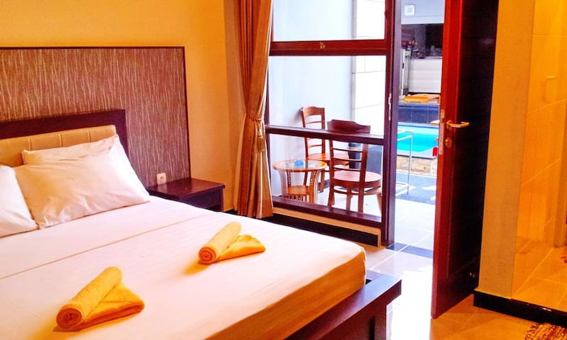 Comfy Room for 2 in Bali - Kuta - Apartment