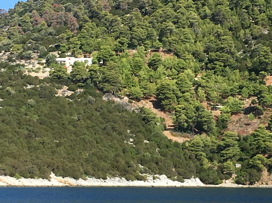 Pefkos Paradise with private beach