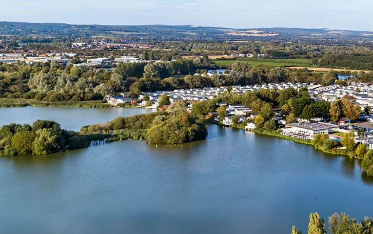 Chichester Lakeside Lodge at Park resort, pool etc