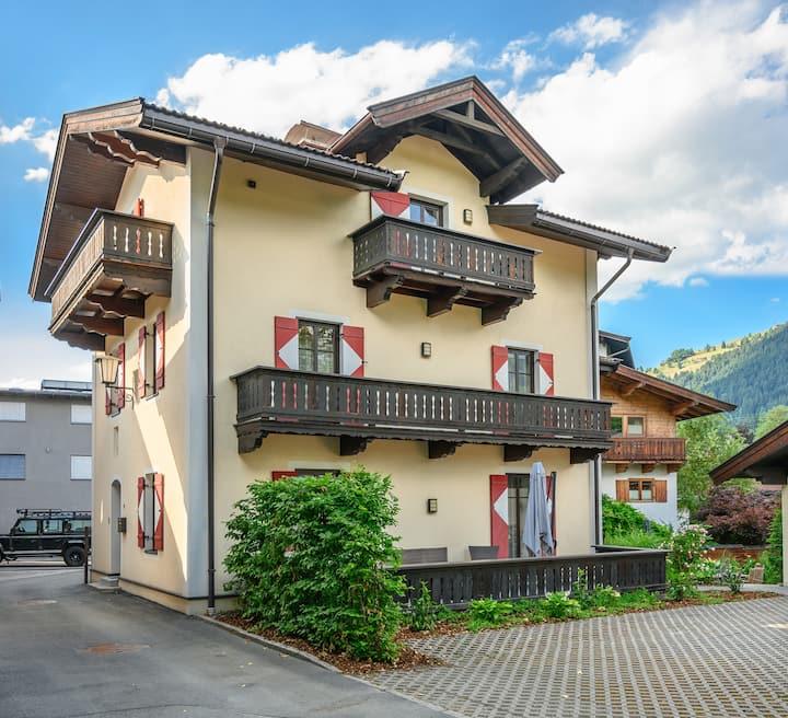 Gemütliche Altstadtvilla im Zentrum von Kitzbühel