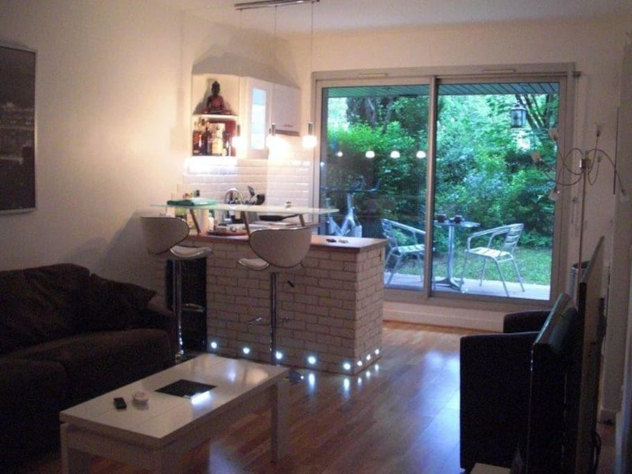 Appart 2p avec jardin proche roland garros bois flats - Ikea meubles de jardin boulogne billancourt ...
