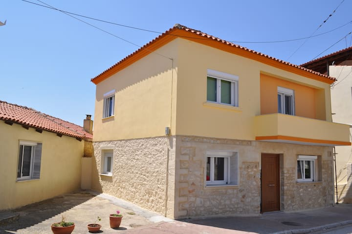 Stone House Avdira Village (1st Floor-Apartment Α)