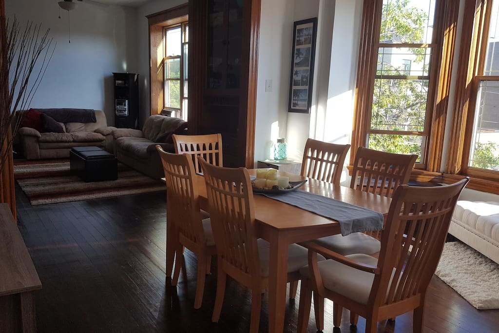 Dining Room. Spacious floor plan flows into Living Room.