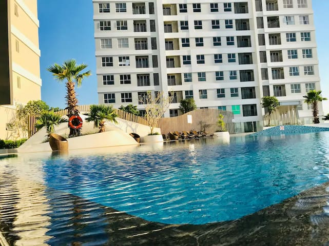 45% Off, Clean Luxury Apartment, LOTTE MART Nearby