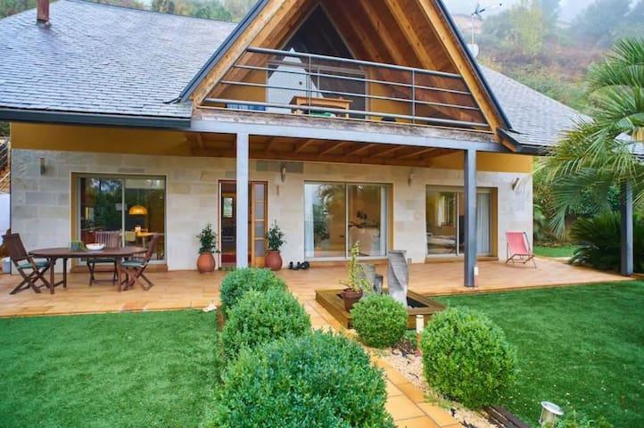 Habitacion individual en casa de lujo
