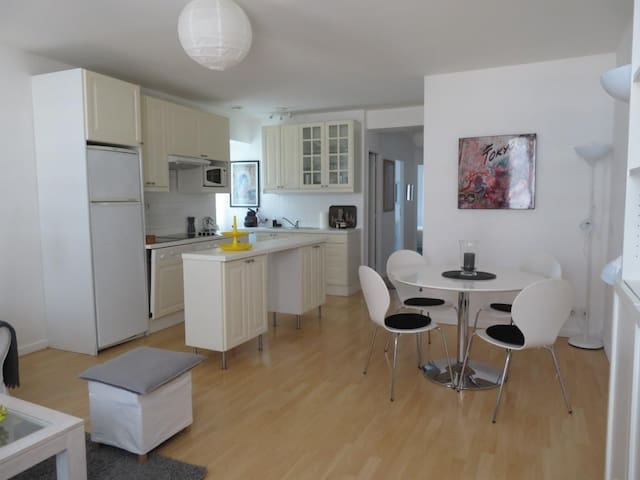 Modern bright two bedroom apartment