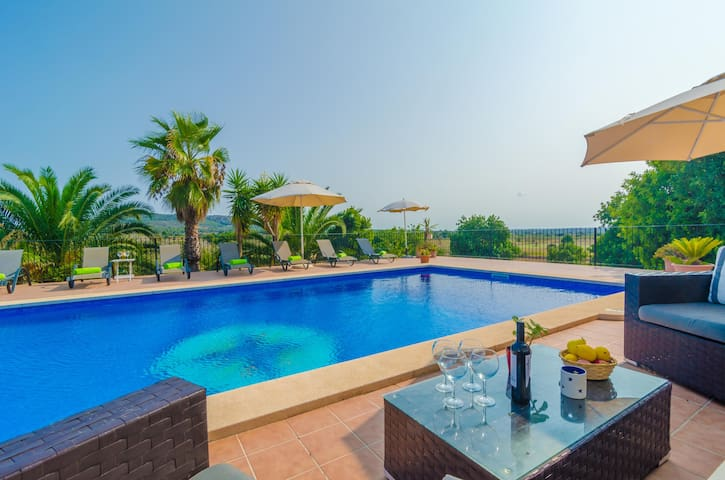 CAN CLARET - Villa for 8 people in Cas Concos (Felanitx).