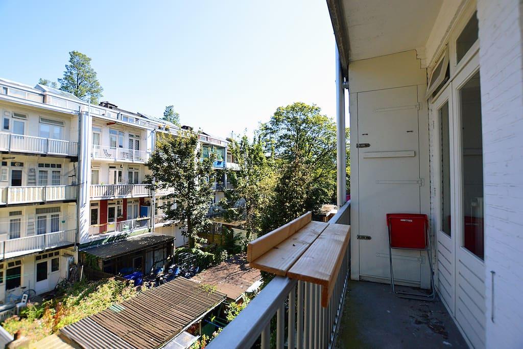 The lovely balcony