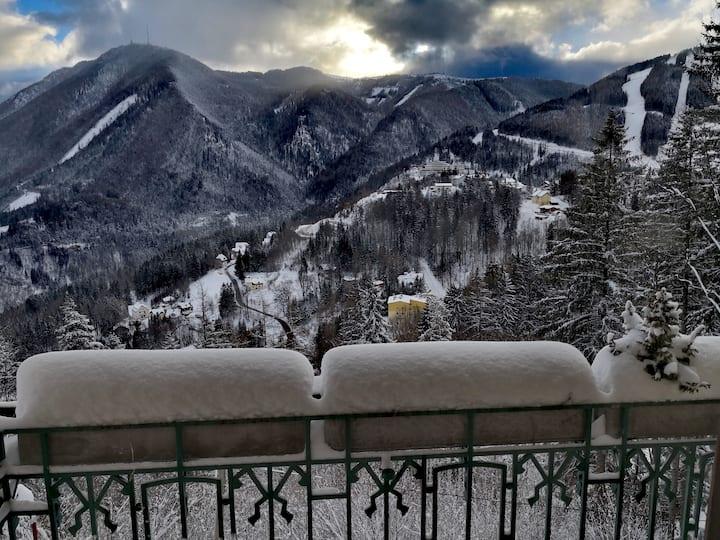 🌄 Vienna Alps Suite 💒 Unesco Mountain Railway