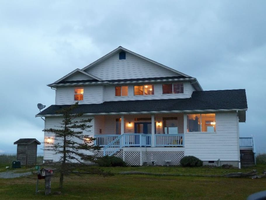 View of the front of Lighthouse Manor