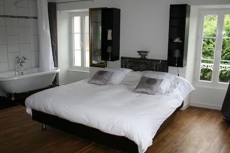 Chambre d'hôtes Louis XVI - Thury-Harcourt - Oda + Kahvaltı