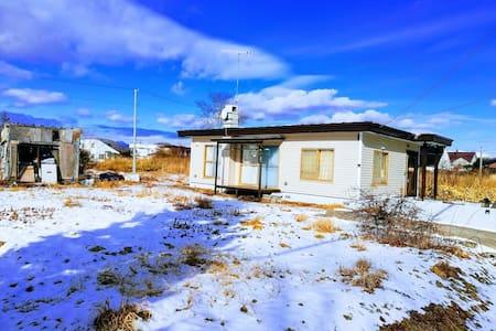 1 Living+2bed rooms/2parking lots/Near Noboribetsu