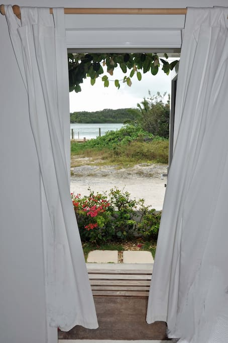 View from the front door across to Sugar Loaf Cay