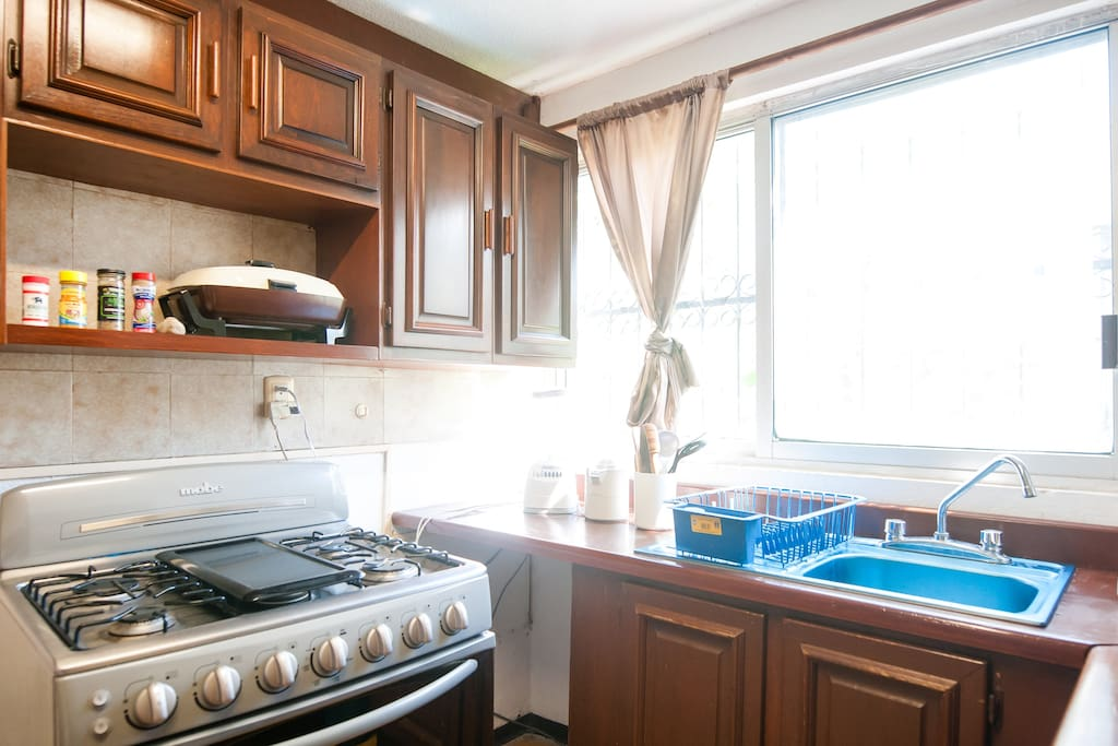 Nice kitchen with new appliances