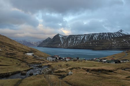 Cottage by the sea Faroe Islands