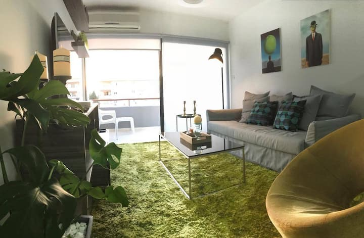 NEAR BEACH(!)  2BR COSY APT NEAR THE CITY CENTRE
