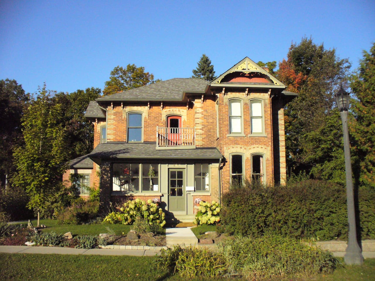 The Flying Leap Bed and Breakfast in Elora, Ontario