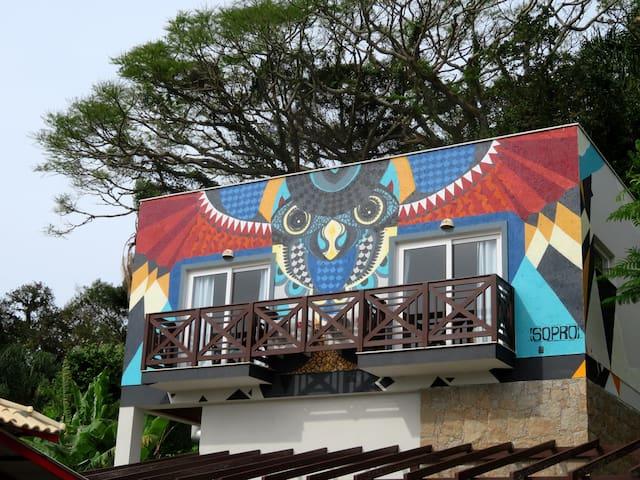 Apartamento com vista pro mar em Ponta das Canas