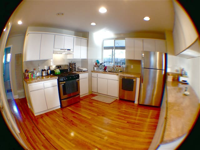 Bright, Open Kitchen