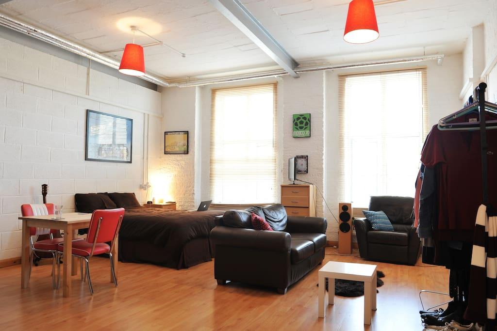 Large & Unique Loft Style Apartment