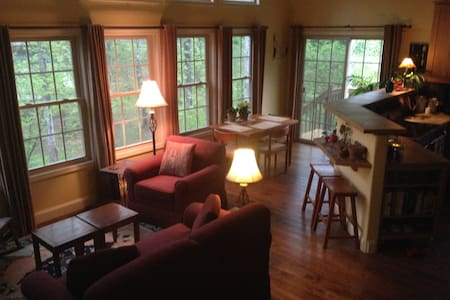 Private Second Floor Suite in Beautiful Home - 威瓦维尔 (Weaverville) - 独立屋