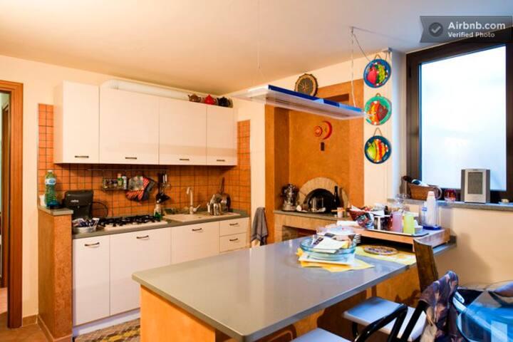 Camera marinara con cucina